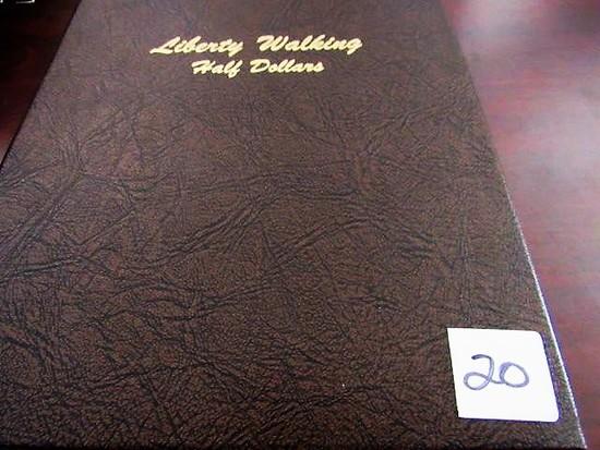 1916-1947 Walking Liberty Half Dollar Set
