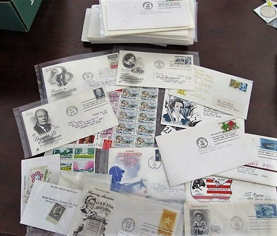 Nice Lot of 50 First Day Issue plus Misc. Stamps