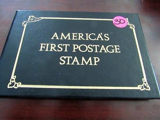 1847 Rare 5 Cent Ben Franklin Stamp