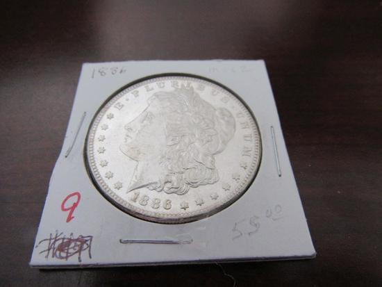 1886-P Silver Dollar