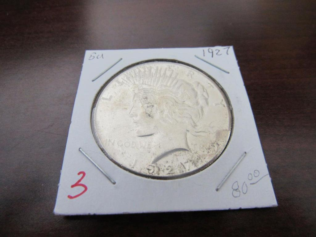 1927-P Silver Dollar