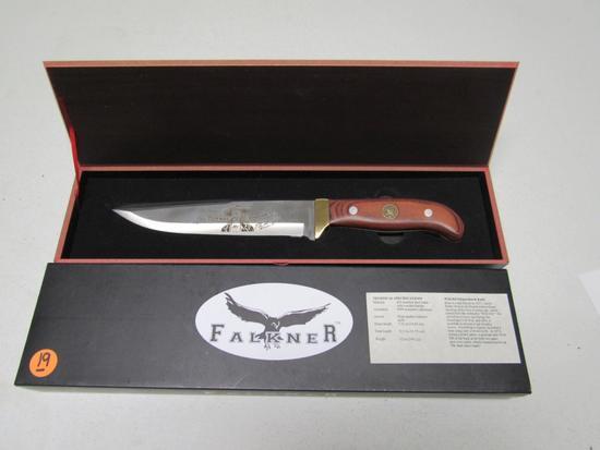 Falkner Wild Bill Hickok Bowie Knife