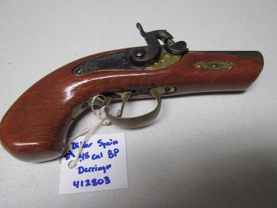 .45 Cal. Black Powder Pistol - DIKAR Spain