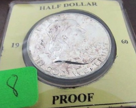 1960 Proof Franklin Half Dollar