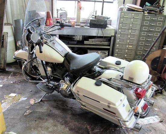2006 Harley Davidson Police Bike