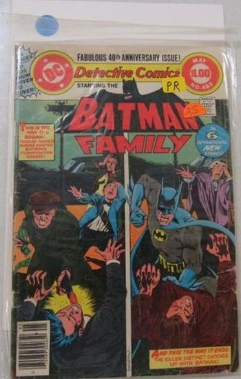 Detective Comic Featuring Batman