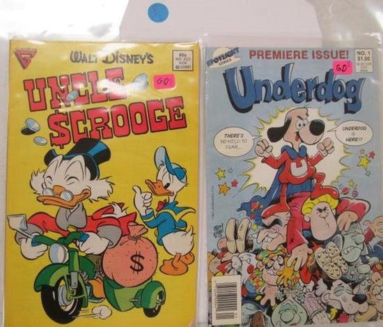 Uncle Scrooge Issue 223, Underdog Issue 1