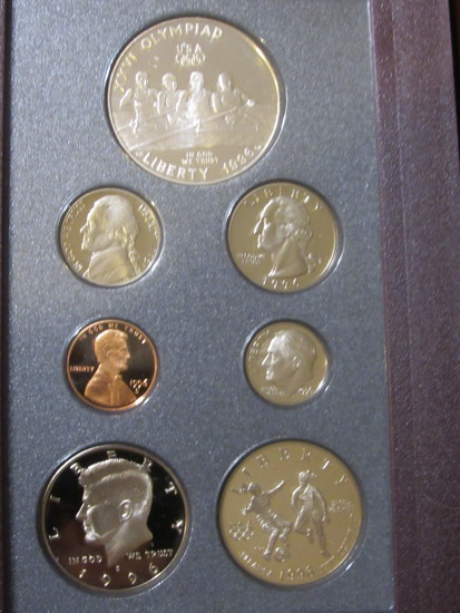 1996 United States Mint Prestige Set