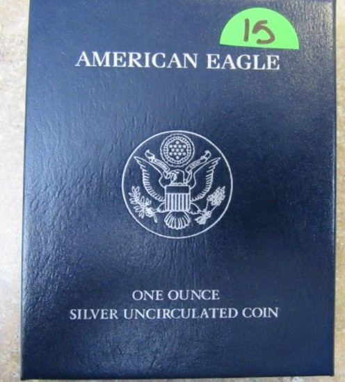 2011 American Eagle 1oz Silver Uncirculated Coin