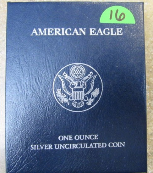 2012 American Eagle 1oz Silver Uncirculated Coin