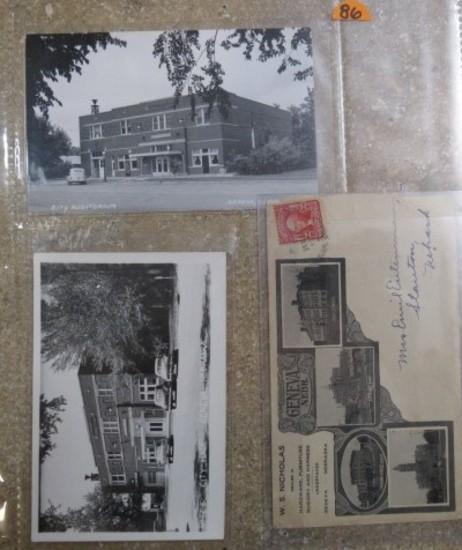 (3) Nebraska Post Cards