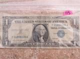 1957 One Dollar
