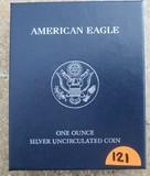2011 American Eagle 1oz Silver Uncirculated Coin
