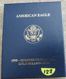 2012 American Eagle One Quarter oz Gold Proof