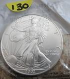 2002 Silver Dollar