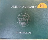1989 American Eagle Silver Dollar