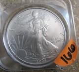 2006 1oz Fine American Eagle Silver Dollar