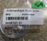 2011 1oz Fine American Eagle Silver Dollar