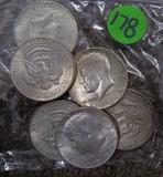 1964 JFK Half Dollars