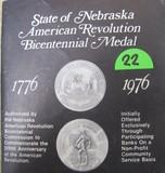 1867 Official American Revolution Bicentennial Medal