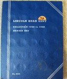 1909 to 1940 Number 1 Lincoln Head Cent Collection
