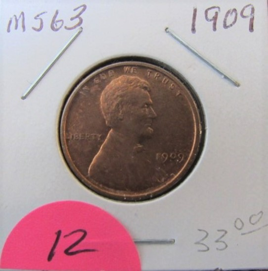 1909 Lincoln Cent MS63