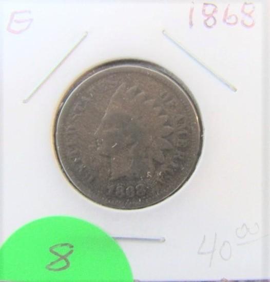 1968 Indian Head Cent-Good
