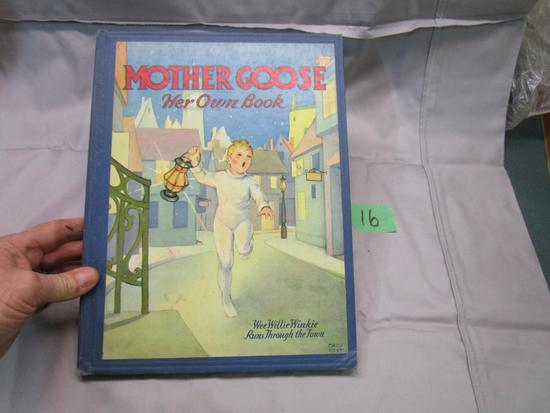 1931 Mother Goose Book, Mary Royt Illust. Nursery Rhymes