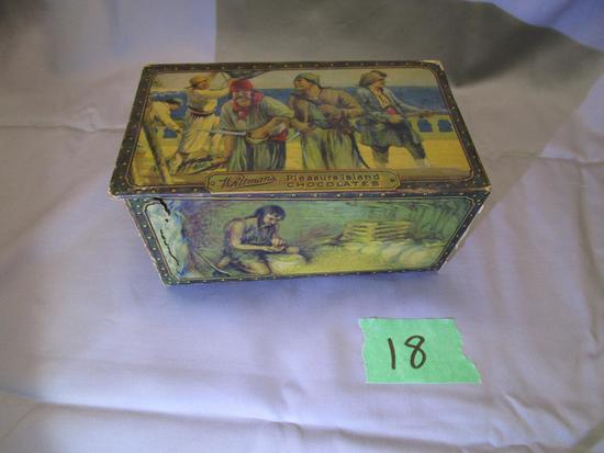 Early Whitman's Pleasure Island Chocolate Box