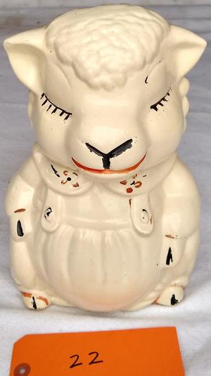 Lamb Cookie Jar