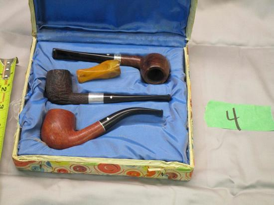 3 Piece Pipe Set in Original Store Box
