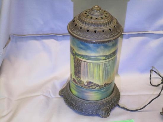 Vintage Glass Niagara Falls Motion Light