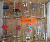 10 Assorted Beer Mugs/Glasses