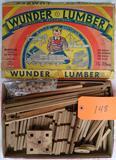 1932 Wunder Lumber Building Blocks