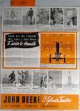 1940 John Deere 2 Cylinder Tractor Brochure/Poster
