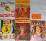5 Tournament of Roses Program/Pictorial