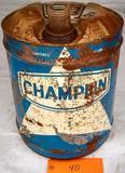 Champlin Oil 5 Gal. Can