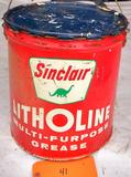 Sinclair Litholine Grease 5 Gal. Bucket