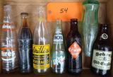 7 Vintage Pop Bottles