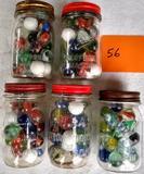 5 Pint Jars of 1