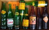9 Vintage Pop Bottles