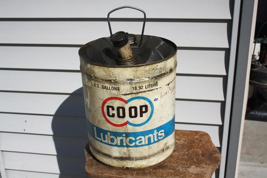 Co-op 5 Gallon Oil Lubricant Can