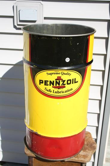 Pennzoil Lubricant Can
