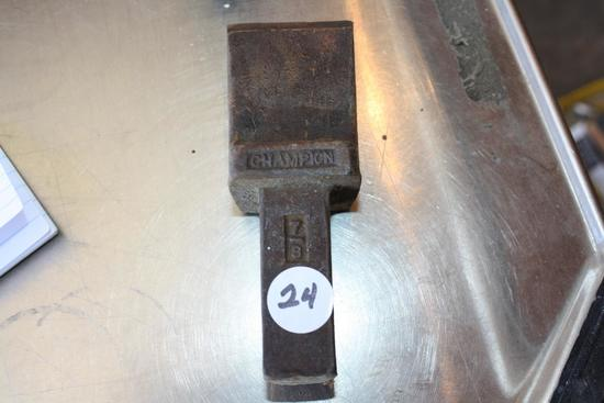 Antique Champion Hardy Anvil