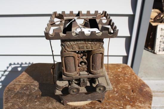 Antique Sad Iron Warming Stove