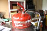 Vintage Red Eagle Gas Can