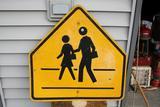Vintage School Children Sign