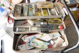 Vintage Tackle Box full of old tackle