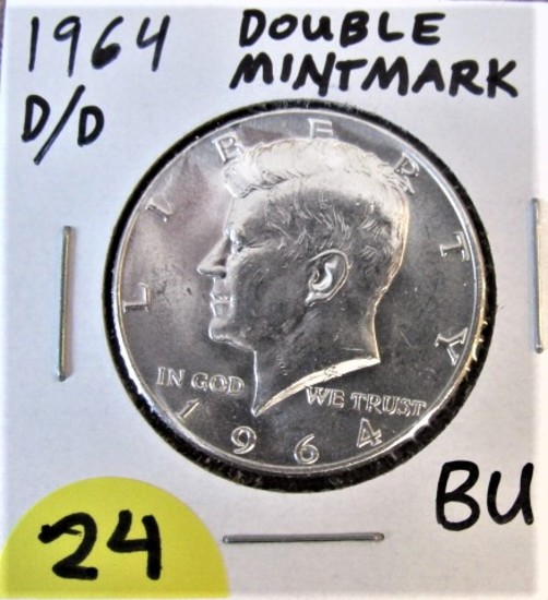 1964 D/D Double Mint Mark