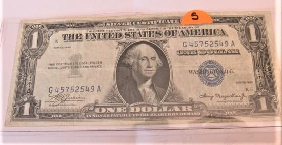 1953 Rarest $1 Silver Certificate
